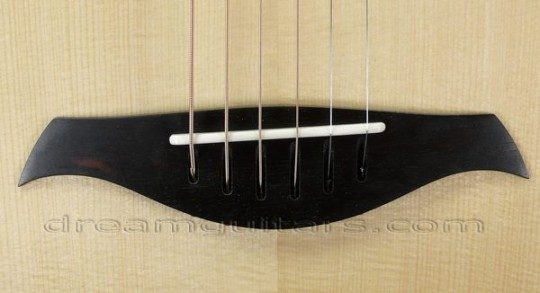 Ebony string-through Bridge