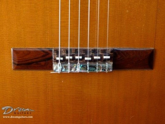 Brazilian Rosewood/Abalone Bridge