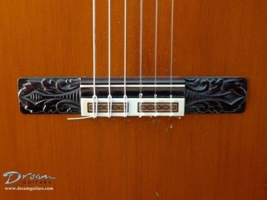 Brazilian Rosewood carved Bridge