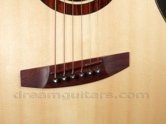 Cocobolo Belly & Cocobolo Saddle Bridge