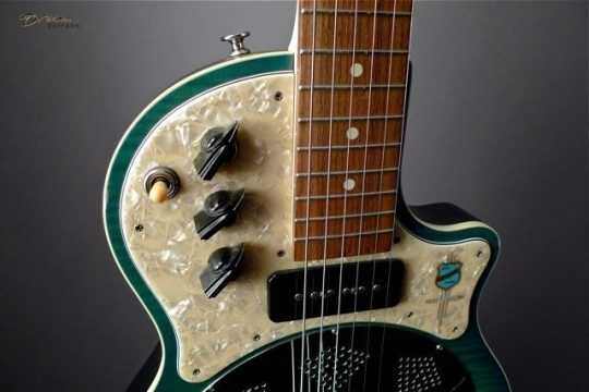 National Reso-Phonic Resolectric Electric Guitar