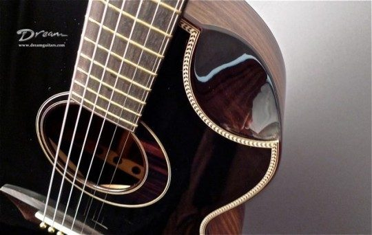 Yong Blackie JJ Acoustic Guitar