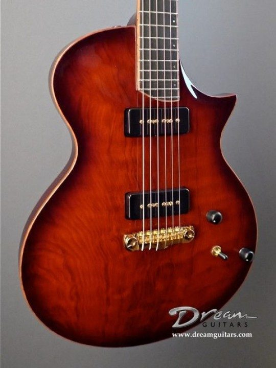Artinger Chambered Redwood Singlecut Electric Guitar