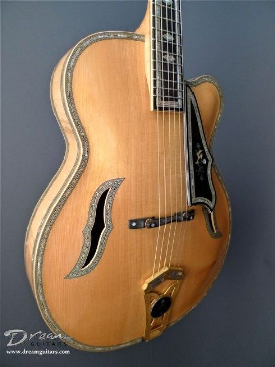 Bozo 40th Anniversary Beograd Archtop Guitar
