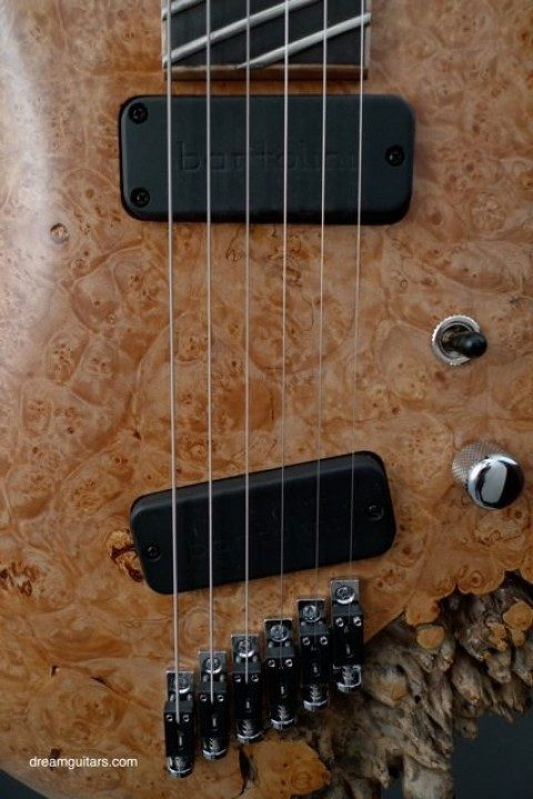 Custom Bartolini Pickups