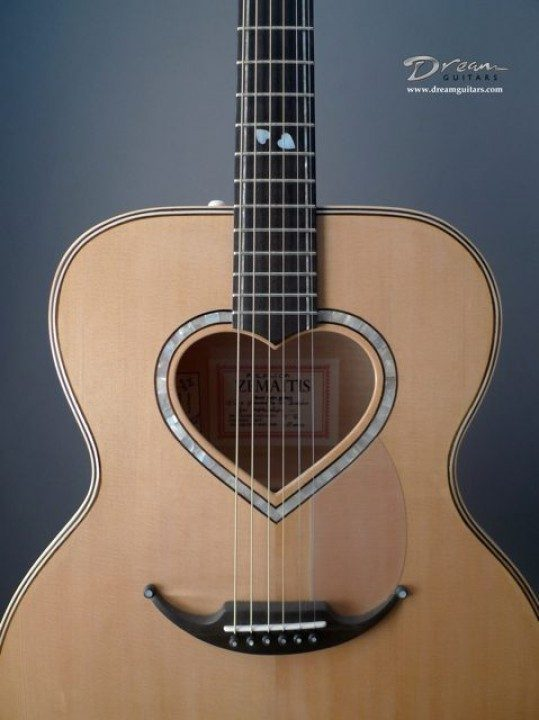 Dave of England The Queen of Hearts Acoustic Guitar