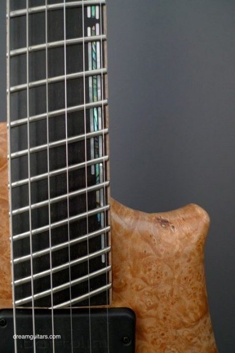 Bridge Pickup crafted for Fanned-Fret