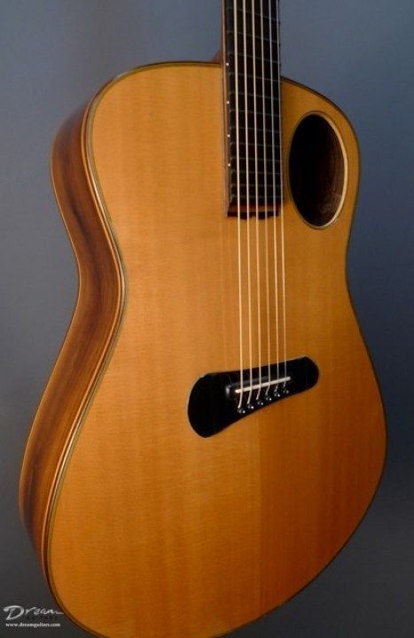 Boaz Guitars Clarita Negra Acoustic Guitar
