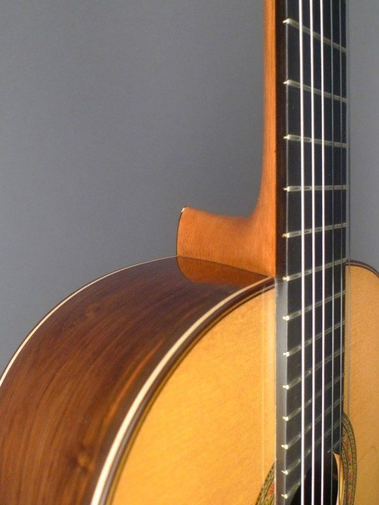 Juan Miguel Gonzalez Guitars Flamenco Negra Brazilian Flamenco Guitar