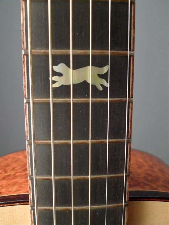 Running Dog Guitars (Rick Davis) Ought-3 Acoustic Guitar