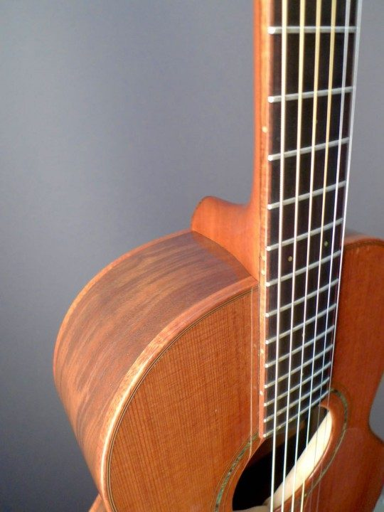 Mauel Guitars Parlor Acoustic Guitar