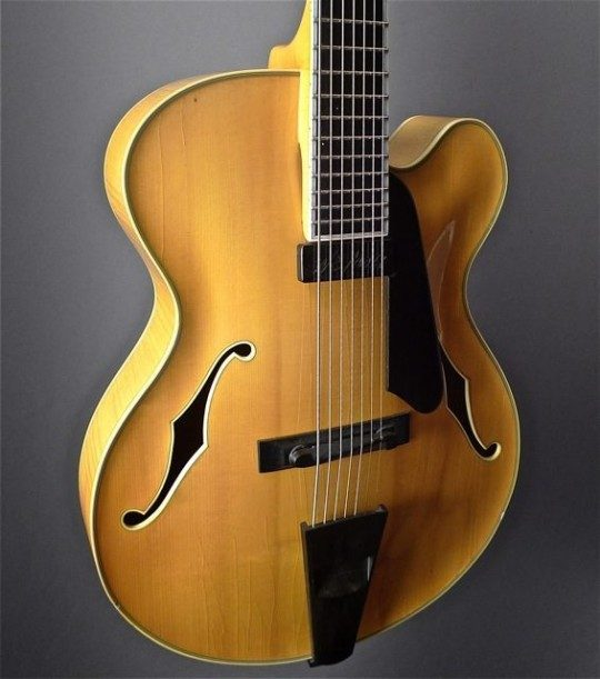 7 String Archtop Guitar