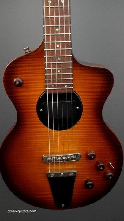 Flamed Maple Top, Pickup Rotates