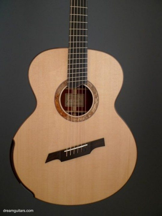 Master Grade Sitka Spruce Top For Power and Color