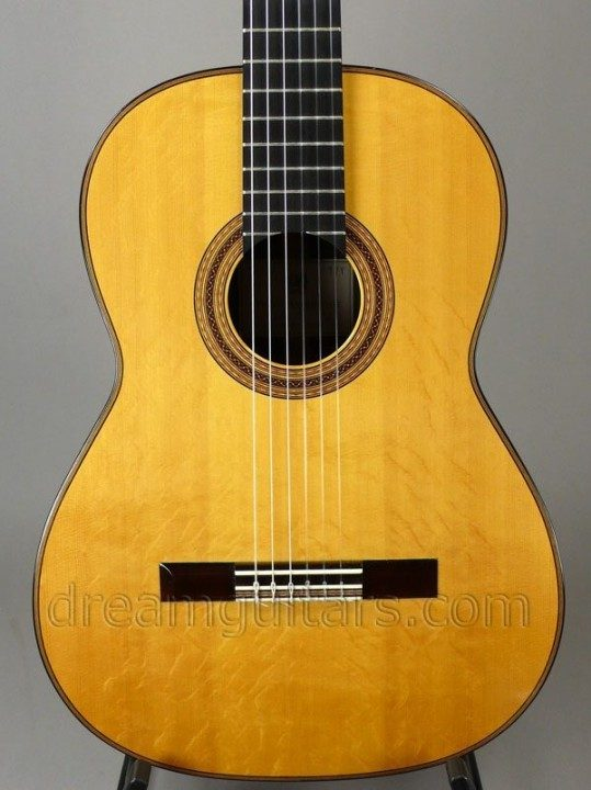 Figured Spruce Top