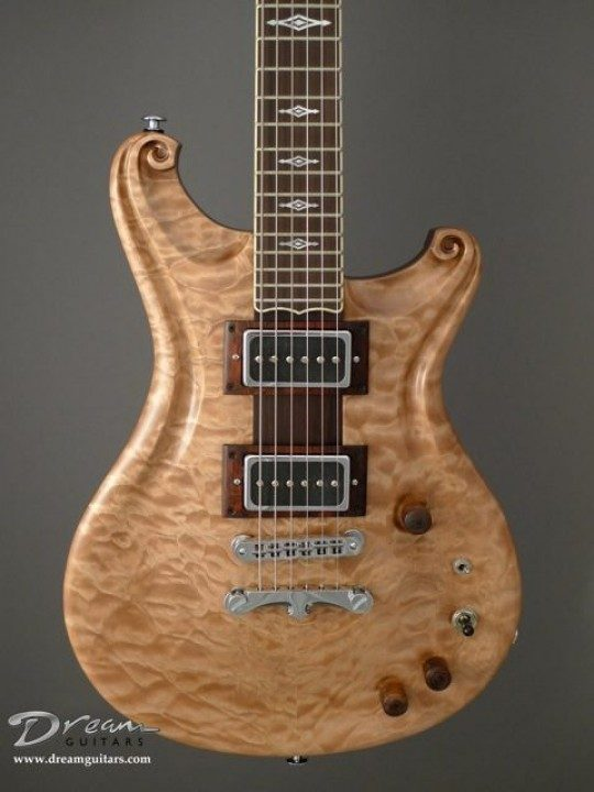Quilted Maple Top, Satin Finish