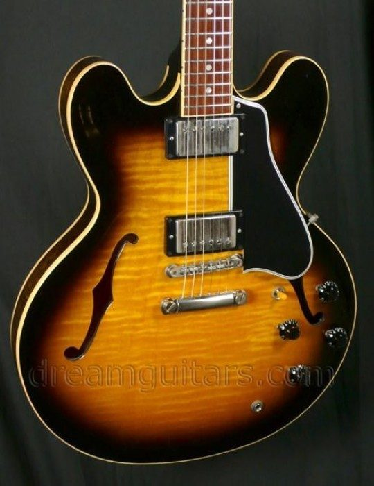 Flamed Maple Top