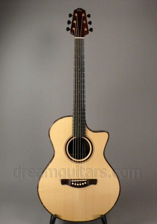 Eichelbaum Guitars Grand Concert Cutaway Acoustic Guitar