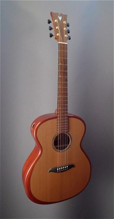 Micheletti Guitars Rigid Rim Acoustic Guitar