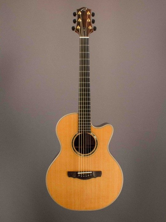 Ryan Mission Grand Concert Acoustic Guitar