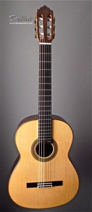 Carrillo, Vincente 1A Paco DeLucia Negra Classical Guitar