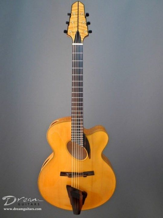 Moll Quat-Not-Troport Archtop Guitar