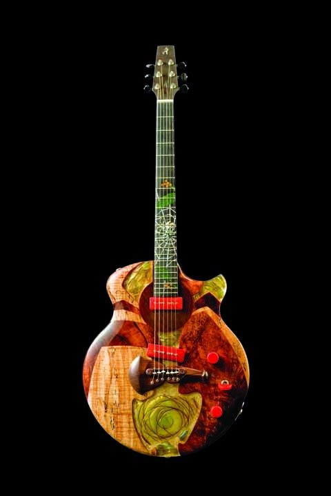 Spalt Instruments The Nouveau Series Spinning Arachnid Electric Guitar