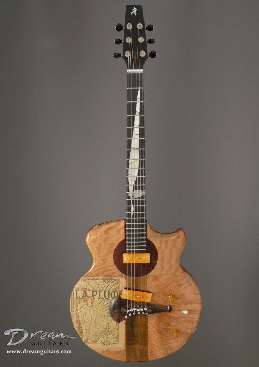 Spalt Instruments The Nouveau Series Mucha La Plume Electric Guitar