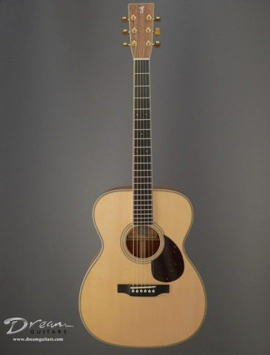 Franklin Guitars OM Acoustic Guitar