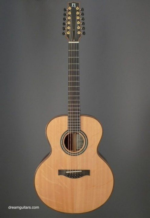 Hoffman Guitars 12 String Small Jumbo Acoustic Guitar