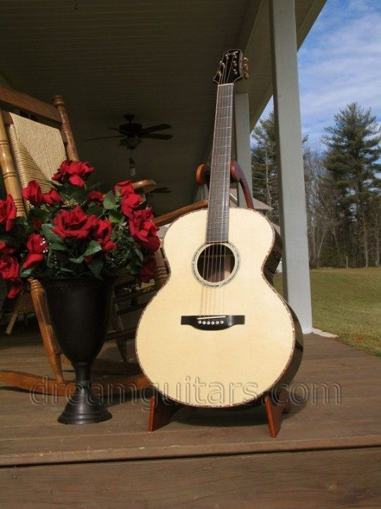 Bourgeois Guitars Petite Jumbo Acoustic Guitar
