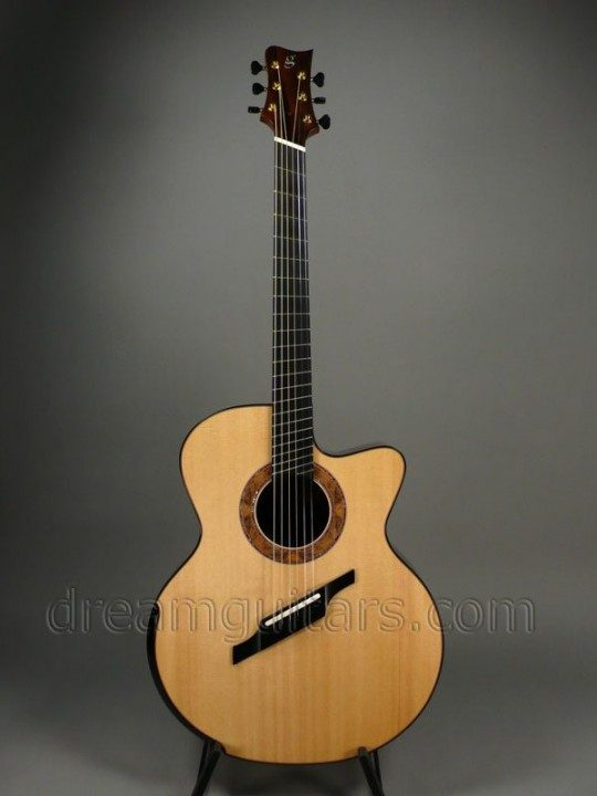 Greenfield Guitars G4 Fanfret Acoustic Guitar
