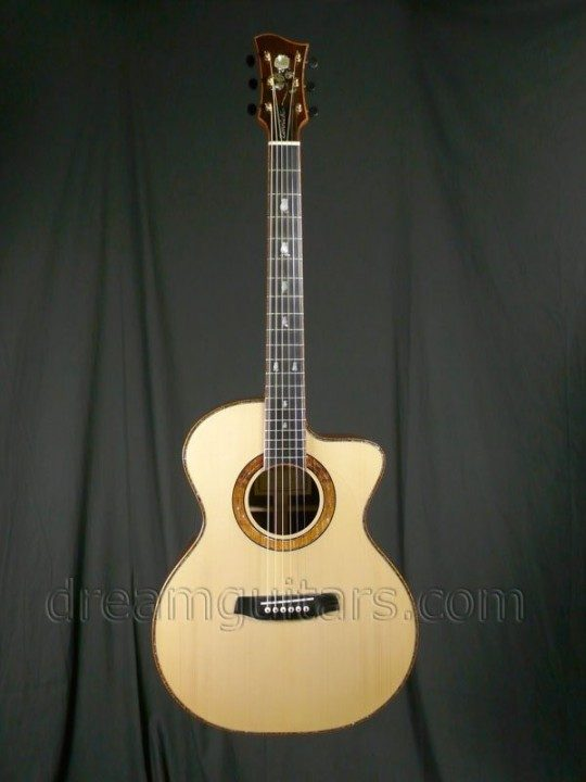 Zimnicki Steel String Acoustic Guitar