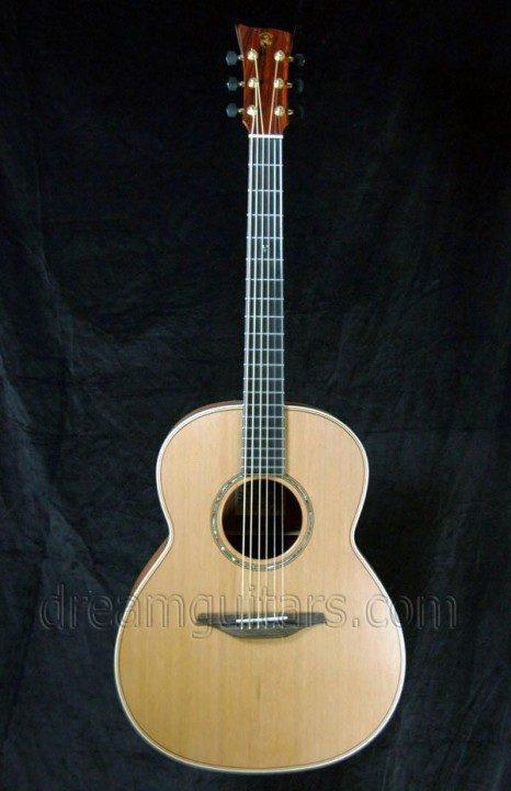 McIlroy Guitars A-55, 5th Anniversary Acoustic Guitar
