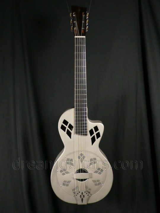Phillips Resonator Guitars Parlor Resophonic Acoustic Guitar