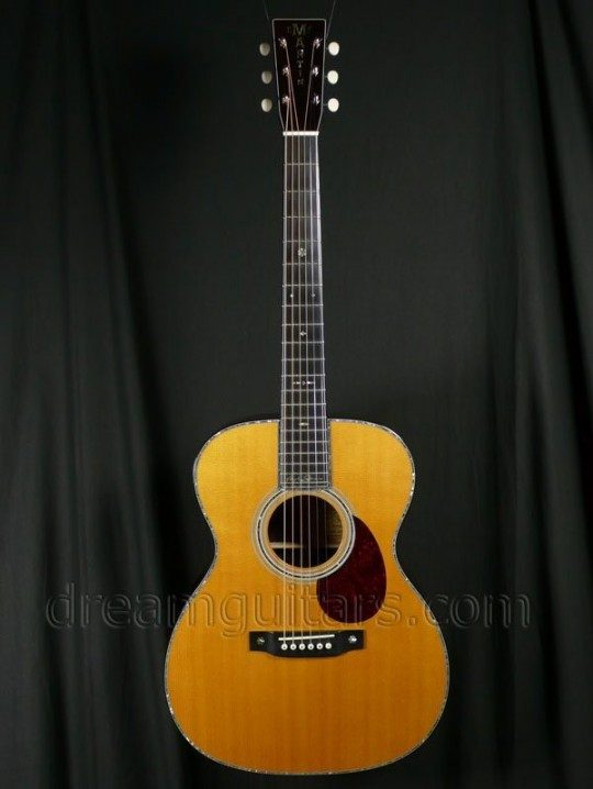 Martin Guitars OM-42PS Acoustic Guitar