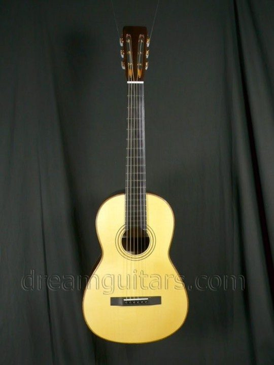 Hippner Guitars Parlor Acoustic Guitar