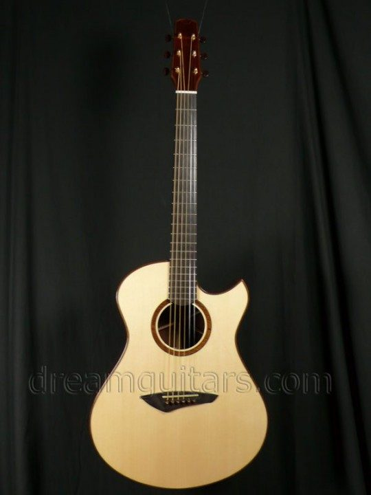 Bashkin Guitars Placencia OM Acoustic Guitar