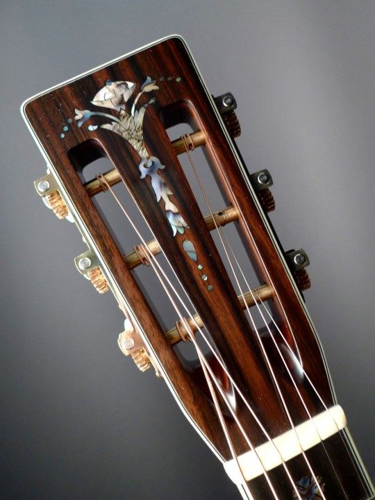 Rosewood Headplate Torch Inlay