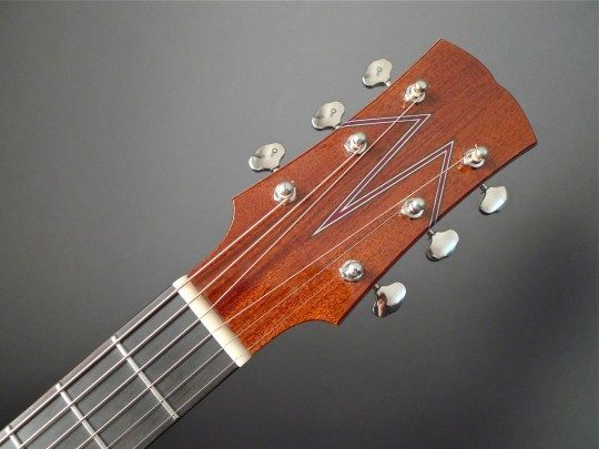 Ebony Headplate Custom Inlay