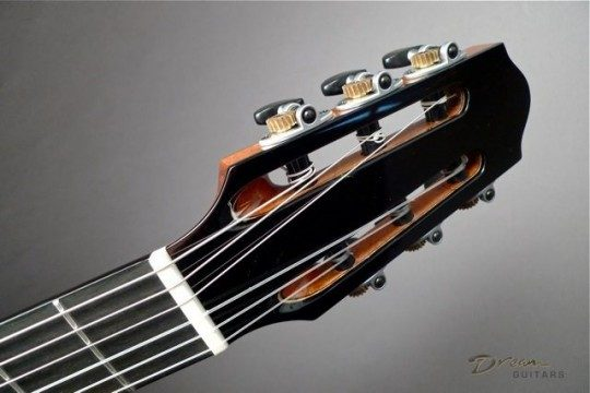 Ebony Headplate None Inlay