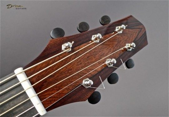 Cocobolo Rosewood Headplate None Inlay