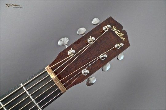 Brazilian Rosewood Headplate Builder Logo Inlay