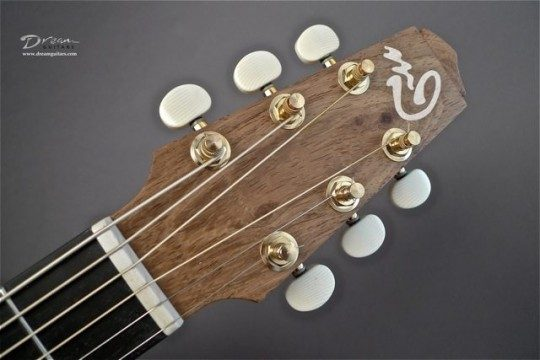 Rosewood Headplate Builder Logo Inlay