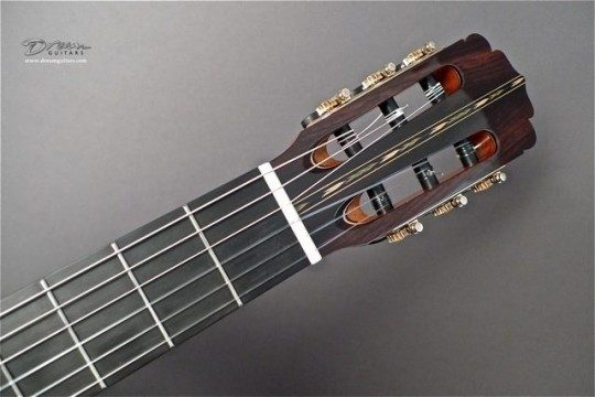 Indian Rosewood Headplate None Inlay