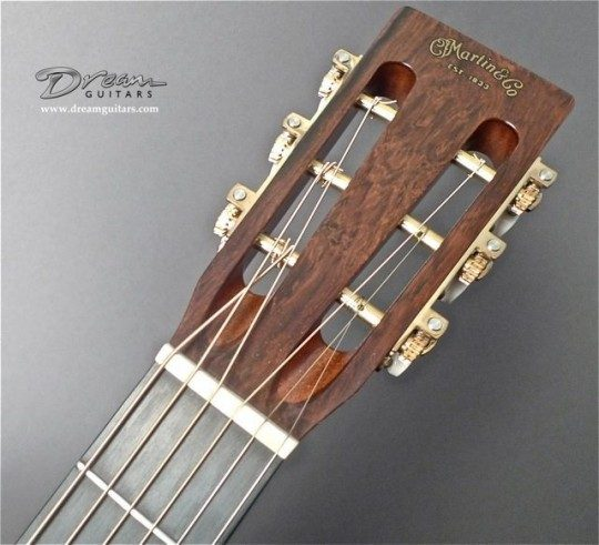 Brazilian Rosewood Headplate Builder Decal Inlay