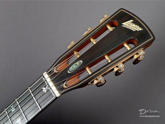 Ebony Slothead Headplate Builder Logo Inlay