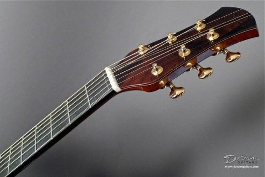 Brazilian Rosewood Headplate Custom Wood Inlays Inlay