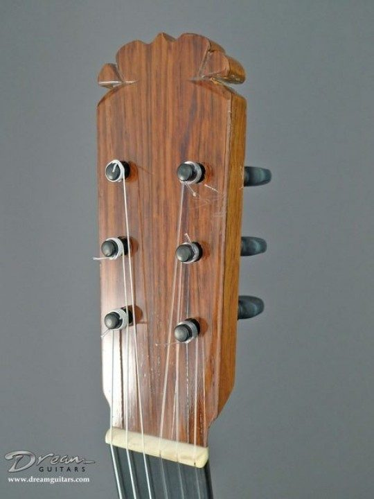Rosewood Headplate None Inlay