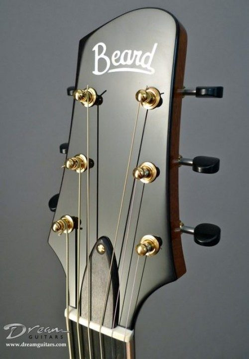Ebony Headplate Builder Logo Inlay